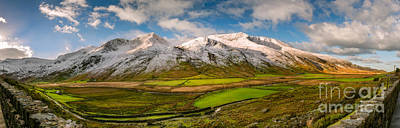 Photograph - Nant Ffrancon Winter Panorama by Adrian Evans