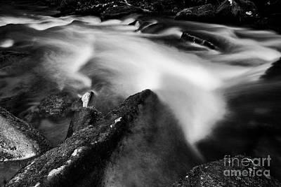 Photograph - Nantahala Creek by Patrick M Lynch