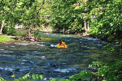 Photograph - Nantahala Rafting by Kathryn Meyer
