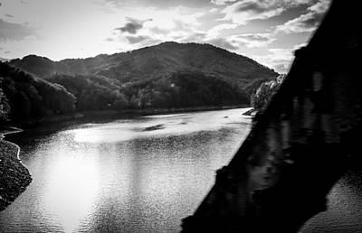 Photograph - Nantahala River As Seen From The Great Smokey Mountain Railroad by Kelly Hazel