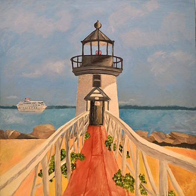 Nantucket - Brant Point Lighthouse Original