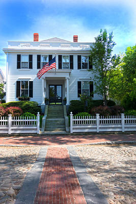 Photograph - Nantucket Architecture Series 06 by Carlos Diaz