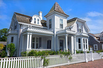 Photograph - Nantucket Architecture Series 5 - Y1 by Carlos Diaz
