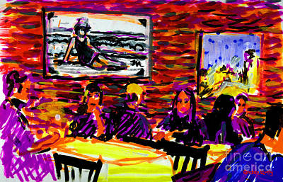 Painting - Nantucket Arno's  by Candace Lovely