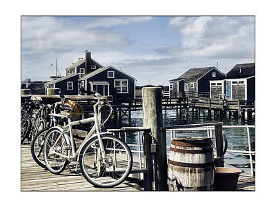 Nantucket Bikes 1 Art Print