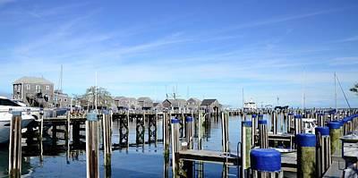 Photograph - Nantucket Blue by Corinne Rhode