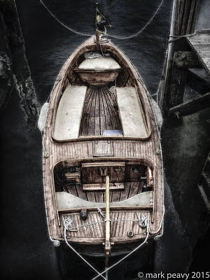 Photograph - Nantucket Boat by Mark Peavy