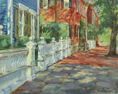 Nantucket Colors Original by Sharon Jordan Bahosh
