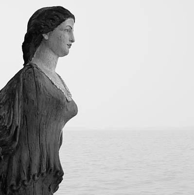 Photograph - Nantucket Figurehead by Charles Harden