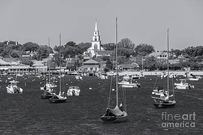 Photograph - Nantucket Harbor II by Clarence Holmes