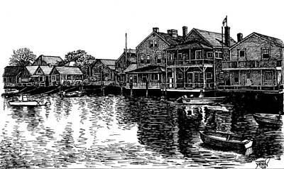 Nantucket Harbor Number Two Art Print