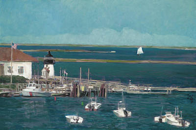 Fleetwood Mac - Nantucket Harbor by Thomas Tribby
