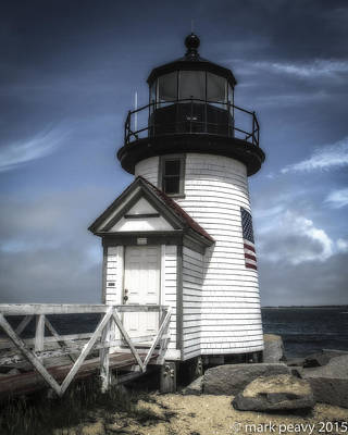 Photograph - Nantucket Lighthouse by Mark Peavy
