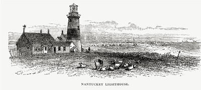 Nantucket Lighthouse, Massachusetts Art Print