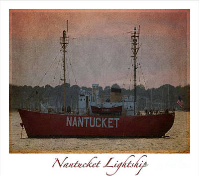 Nantucket Lightship  Original by Lori Whalen