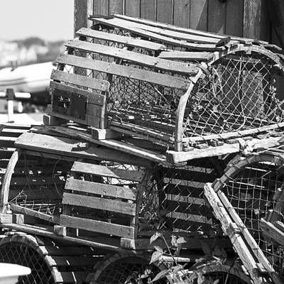 Photograph - Nantucket Lobster Traps by Charles Harden