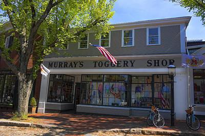Photograph - Nantucket Murrays Toggery Shop - Y1 by Carlos Diaz
