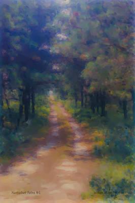Nantucket Paths #1 Art Print