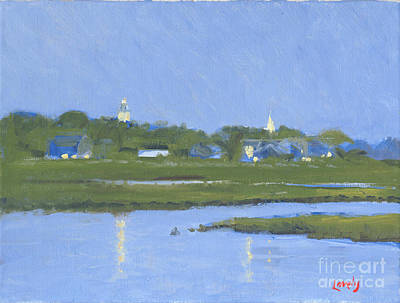 Painting - Nantucket Twilight by Candace Lovely