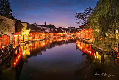 Photograph - Nanxun Night by Dan McGeorge