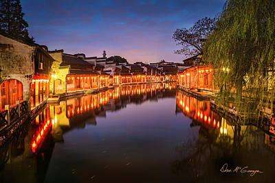 Photograph - Nanxun Night by Dan McGeorge