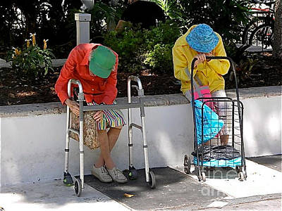 Photograph - Nap Time On Lincoln Road by JK McCrea
