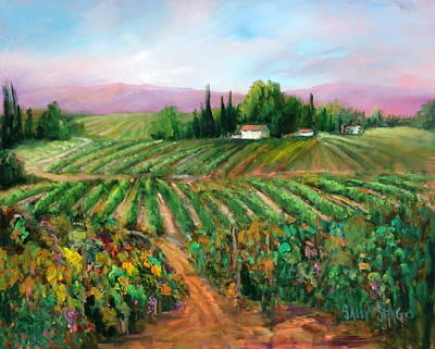 Napa Harvest Original by Sally Seago
