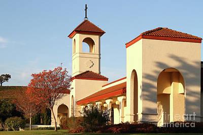 Photograph - Napa Hillside Christian Center In Napa California 7d9059 by San Francisco