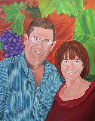 Painting - Napa Memories by Kevin Callahan