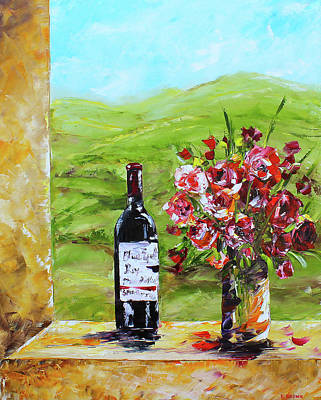 Painting - Napa Valley by Kevin Brown
