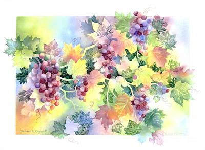 Napa Valley Morning Art Print by Deborah Ronglien