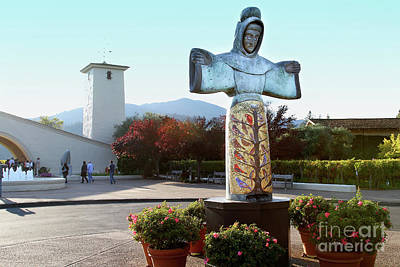 Photograph - Napa Valley Winery 7d9046 by San Francisco