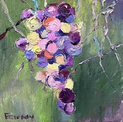 Napa Valley Vineyard Painting - Napa Vines by Wyn Ericson