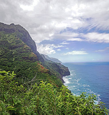 Photograph - Napali Coast by Angie Schutt