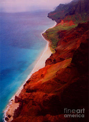 Photograph - Napali Coast by Heather Kirk