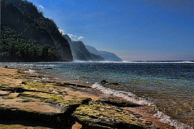 Photograph - Napali Coast  by John Bushnell