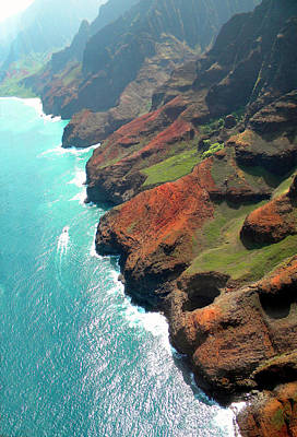 Photograph - Napali Coast Of Kauai by Frank Wilson