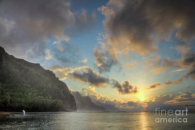 Photograph - Napali Coast Sunset Kauai by Dustin K Ryan