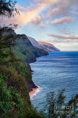 Photograph - Napali Coastline by Anthony Bonafede