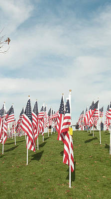 Photograph - 3 Of 6 Naperville Healing Field Of Honor At Rotary Hill by Michael Bessler