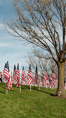 Photograph - 5 Of 6 Naperville Healing Field Of Honor At Rotary Hill by Michael Bessler