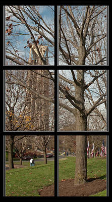 Photograph - 1 Of 6 Naperville Healing Field Of Honor At Rotary Hill Window by Michael Bessler
