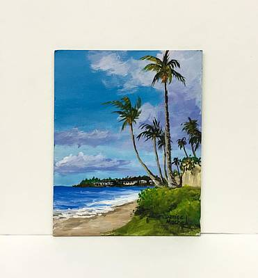 Painting - Napili Bay Maui by Darice Machel McGuire