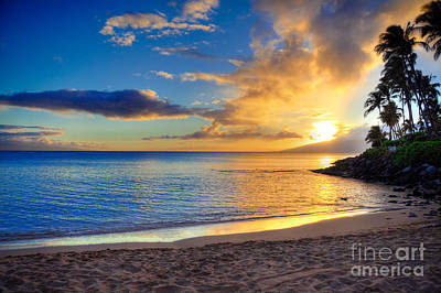Napili Bay Maui Print by Kelly Wade