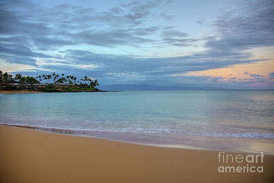 Photograph - Napili Bay Sunrise by Kelly Wade