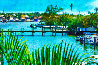 Animals And Earth Photograph - Naples Bay II by Susan Molnar