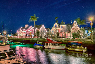 Photograph - Naples Canal Long Beach Beautiful by David Zanzinger