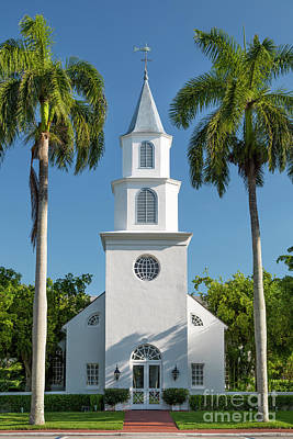 Photograph - Naples Church by Brian Jannsen