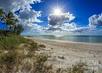 Photograph - Naples, Florida Beach by Hans- Juergen Leschmann