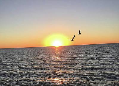 Katharine Hepburn - Naples Florida Sunset by Ken West